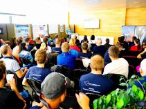Briefing at the Antarctic Logistics & Expeditions